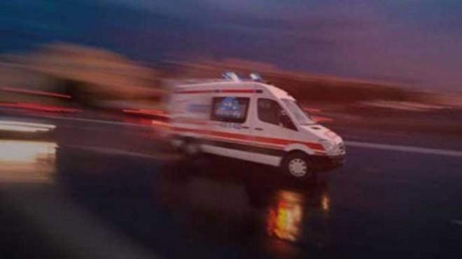 İzmir'de feci kaza: İki kişi öldü!