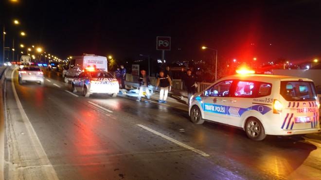 İzmir'de feci kaza: Canından oldu...