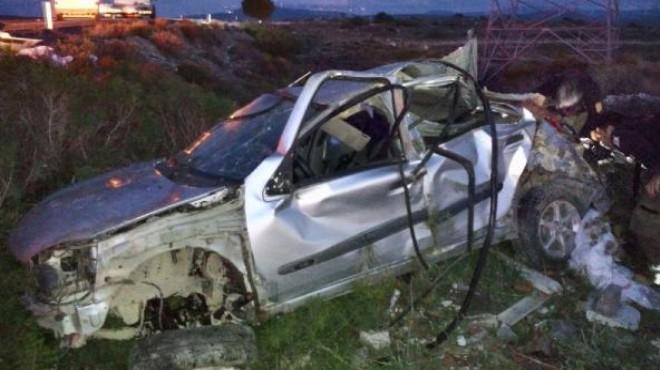 İzmir'de feci kaza... Son yolculuğu oldu