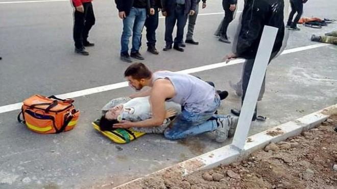 İzmir'de feci kaza: Yürek yakan an...