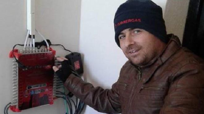 İzmir'de feci olay: Çanak anten tamir ederken...