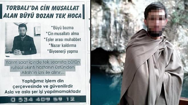 İzmir'de gazeteye ilan bile verdi: Cinci hocayı polis çarptı!