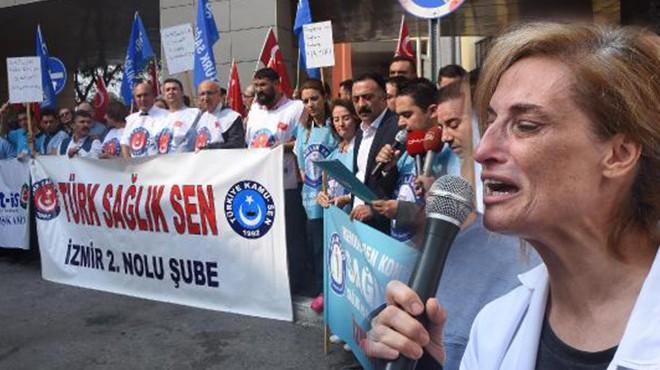 İzmir'de gündem jiletli saldırı: Oğlunun acısına dayanamadı, bayıldı