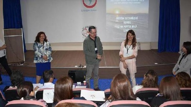 İzmir'de hastanede eğiticilere eğitim