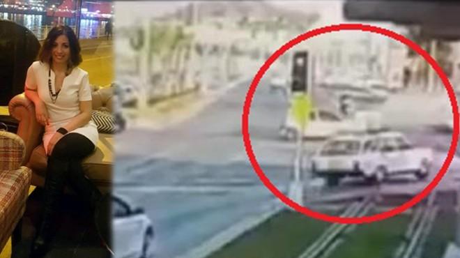 İzmir'de iki kişinin can verdiği kaza kameralarda!