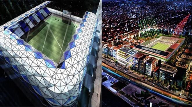 İzmir'de iki stat için iki kritik karar!