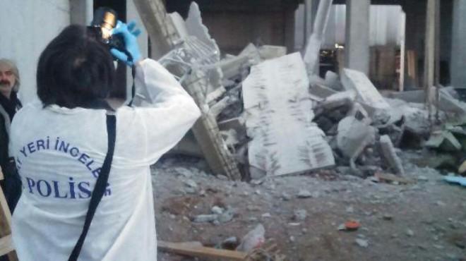 İzmir'de iş kazası: Enkaz altında can verdi!