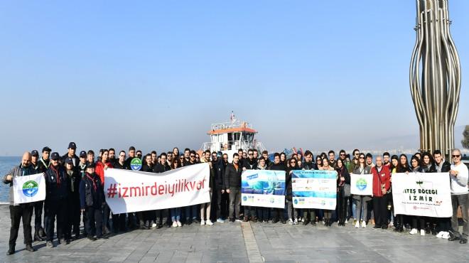 İzmir'de 'iyilik' günü: Kordon'da temizlik var