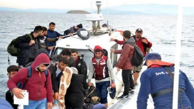 İzmir'de kaçak göçmen operasyonu: 4'ü organizatör 201 kişi yakalandı