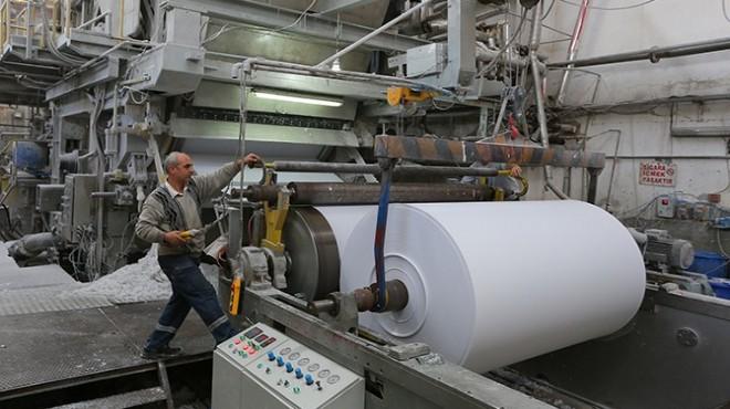 İzmir'de kağıt üreticilerinden 'yerli üretim' çağrısı