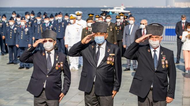 İzmir'de kahraman gazilerin onur günü