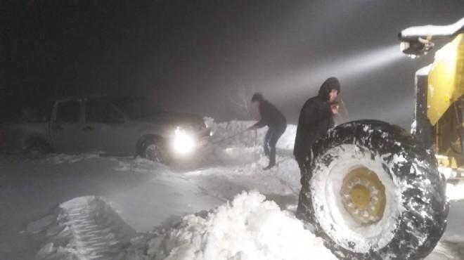 İzmir'de kara kışla amansız mücadele! İlçe ilçe rapor