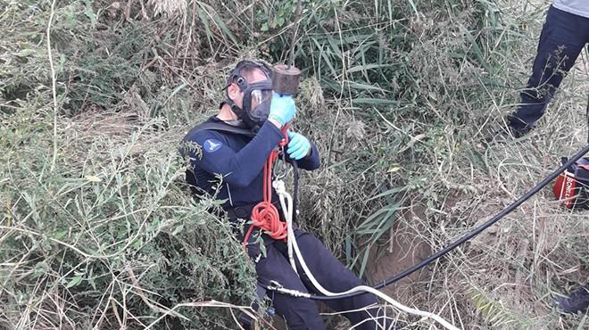 İzmir'de kayıp kişinin cesedi su kuyusundan çıktı!