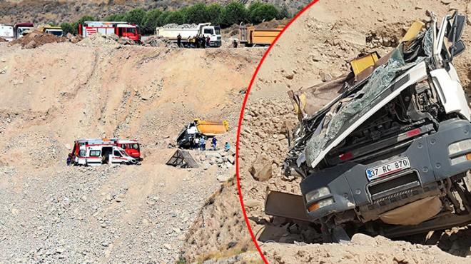 İzmir'de korkunç kaza: 20 metrelik uçurumdan yuvarlandı!