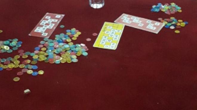 İzmir'de kumar yuvasına baskın!