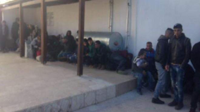 İzmir'de mülteci operasyonu: 54 kişi yakalandı