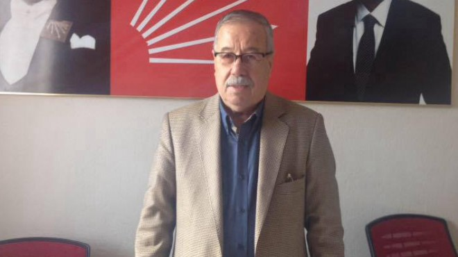İzmir'de o ilçe başkanından flaş adaylık kararı!
