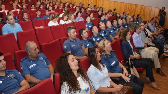 İzmir'de polise 'doğru nefes alma' eğitimi verildi