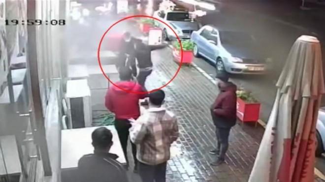 İzmir'de şehir eşkıyası esnafa bıçakla saldırdı!