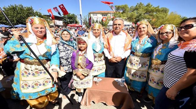 İzmir de Yörük Şenliği coşkusu