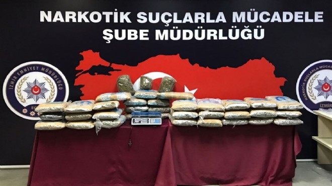 İzmir'de zehir operasyonu raporu: 1 ayda 105 tutuklama!