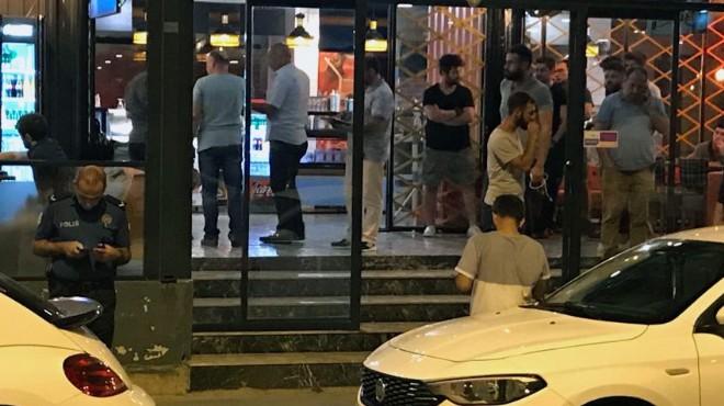 İzmir'deki kafe kavgasında kan aktı!