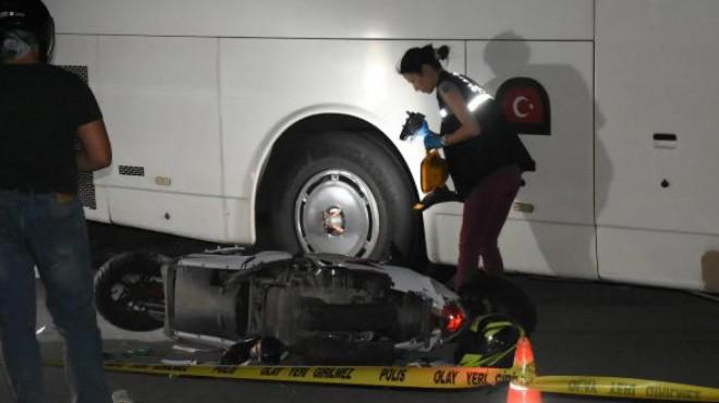 İzmir'deki motosiklet kazasında ölü sayısı 2'ye yükseldi