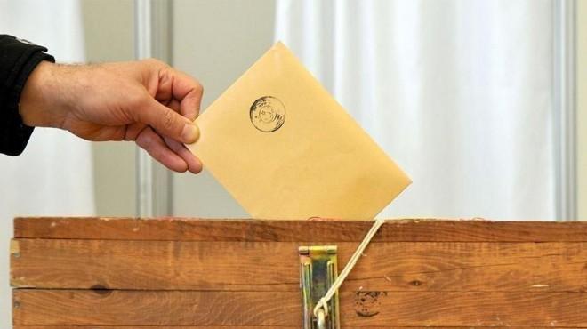 İzmir'deki muhtarlık seçimi 'YSK'lık oldu!