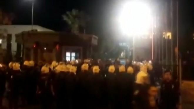 İzmir'deki olaylı eylem için TARİŞ'ten açıklama!