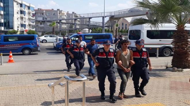 İzmir'deki terör operasyonunda 5 tutuklama