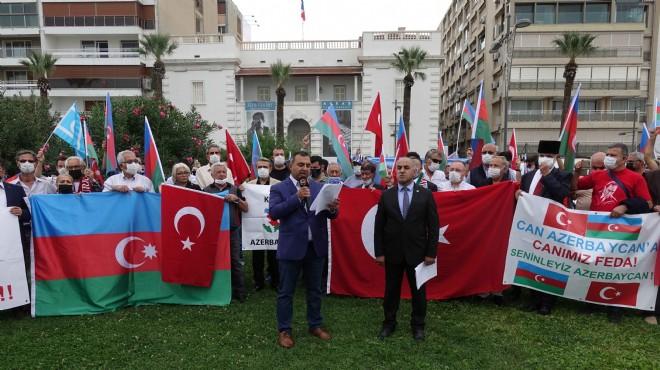 İzmir'den Azerbaycan'a destek!