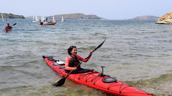 İzmir'den Çanakkale'ye kano ile barış yolculuğu