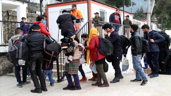 İzmir'de sığınmacı operasyonu: 160 gözaltı!