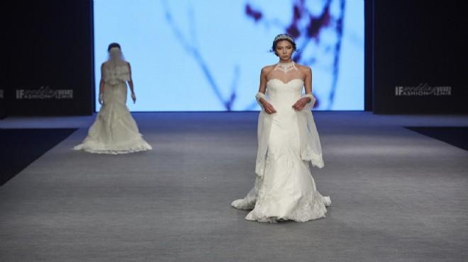 ef31253c98998 İzmir Büyükşehir Belediyesi ev sahipliğinde İZFAŞ tarafından  gerçekleştirilen IF Wedding Fashion İzmir-Gelinlik, Damatlık ve Abiye Giyim  Fuarı'nın ziyaretçi ...