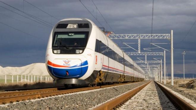 İzmir ile Antalya hızlı trenle bağlanacak