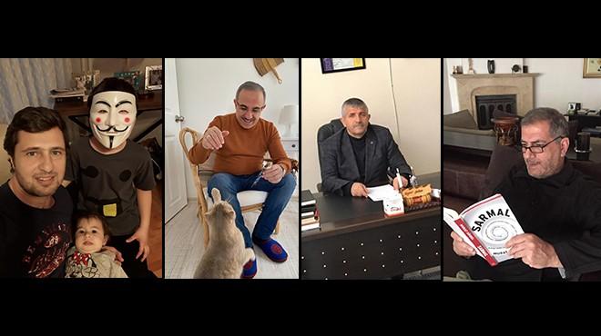 İzmir'in 4 il başkanı nasıl zaman geçiriyor? İşte evlerden kareler!