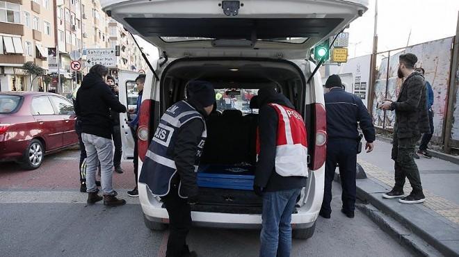 İzmir'in asayiş raporu: 1 haftada 411 kişi!