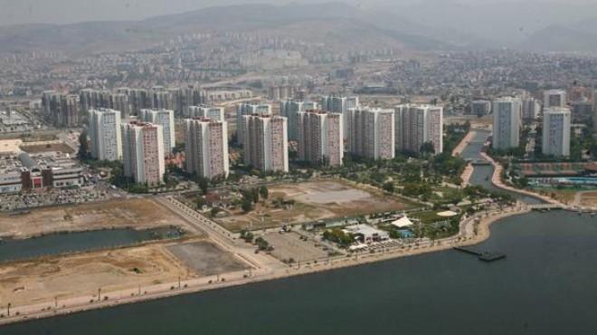 İzmir'in en kıymetli alanlarına 17 katlık binalar!