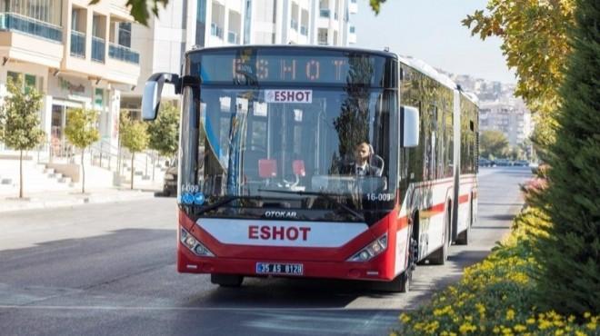 İzmir'in en yoğun yerine yeni otobüs hattı