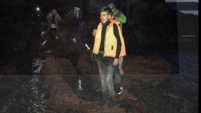İzmir'in iki ilçesinde kaçak göçmen operasyonu