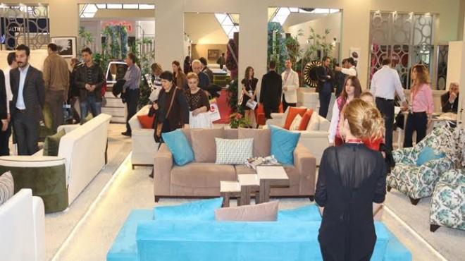 İzmir'in mobilya fuarı artık uluslararası!