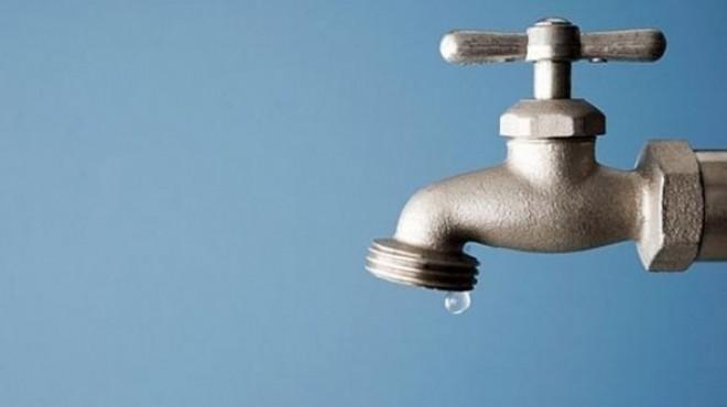 İzmir'in o ilçesinde 1 aylık su kesintisi!