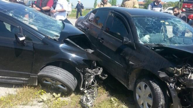 İzmir'in o ilçesinde korkunç kaza: 1 ölü, 3 yaralı
