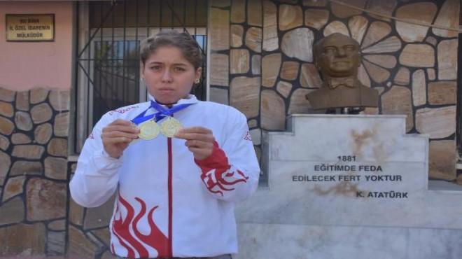 İzmir'in özel sporcusu: Şampiyonluğu ile örnek oldu