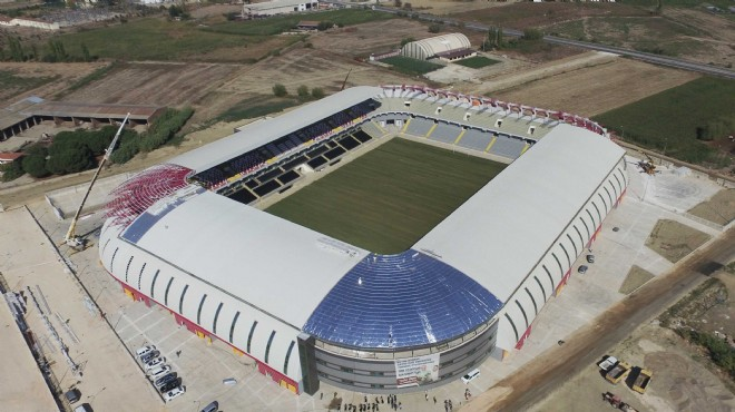 Büyükşehir'den İzmir'e yeni futbol mabedi... Yerli malı yurdun malı!