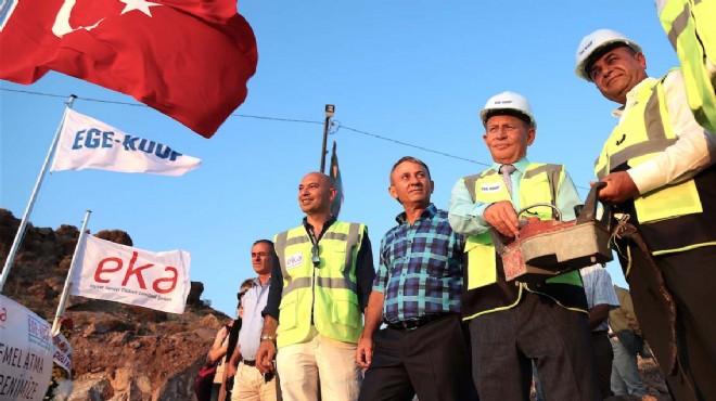 İzmir'in yeni yaşam merkezi Ege-Koop Körfez Evleri yola çıktı