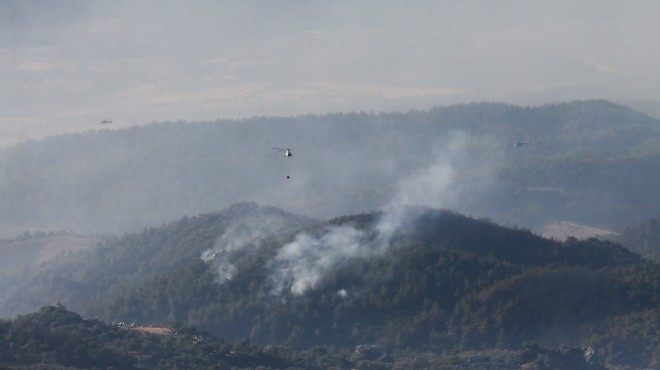 İzmir iş dünyası yangına karşı birleşti