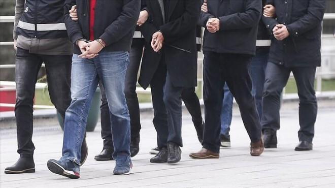İzmir merkezli FETÖ operasyonunda 36 tutuklama!