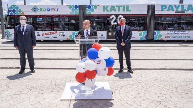 İzmir Metrosu 20 yaşında!