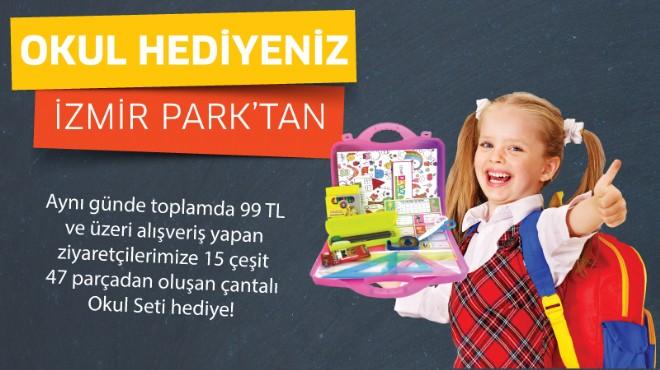 İzmir Park'tan okula dönüş hediyesi